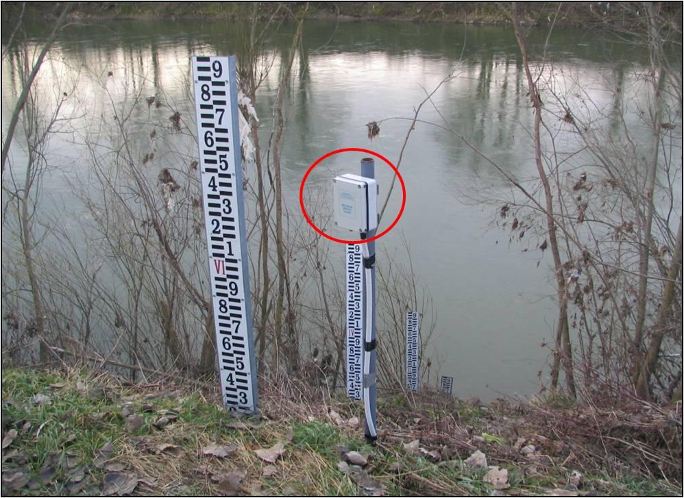 Meritve vodostajev tlačna sonda